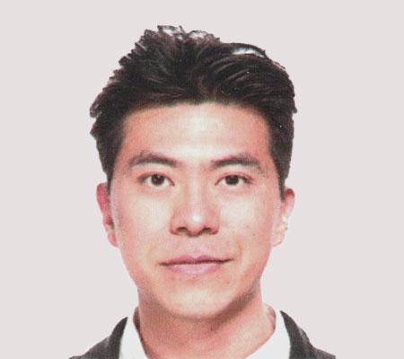 A passport size picture of a human