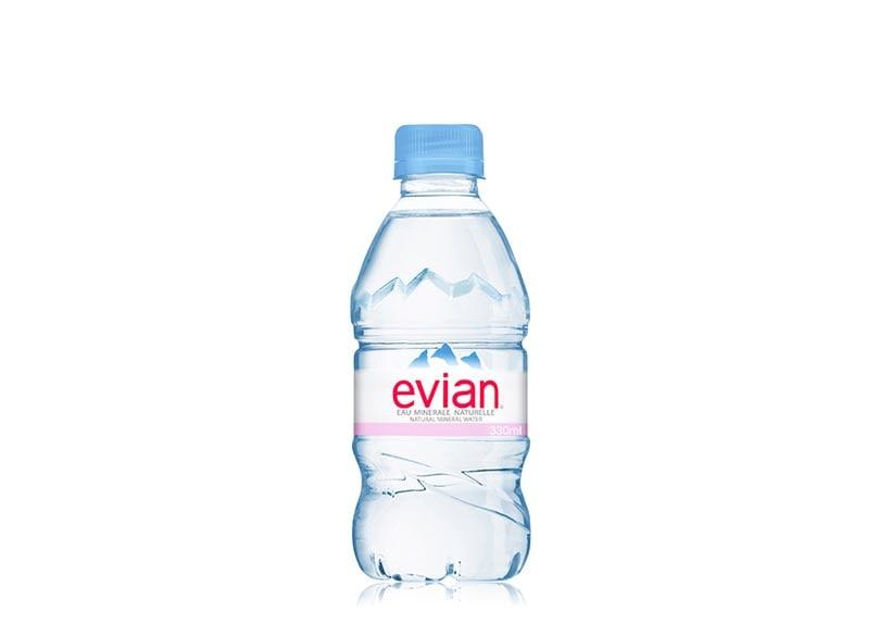 A bottle of Water by renowned company Evian