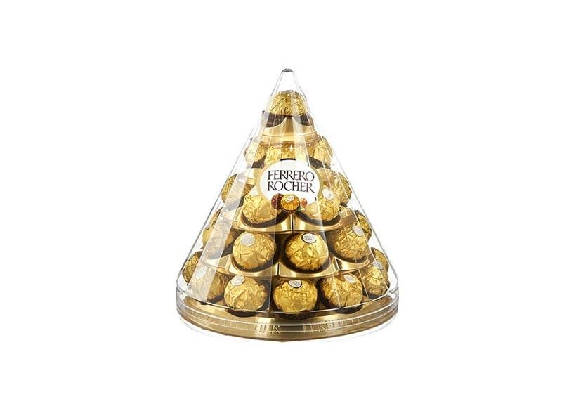 Balls of chocolate with a crunch, renowned as Ferrero Rocher Chocolate