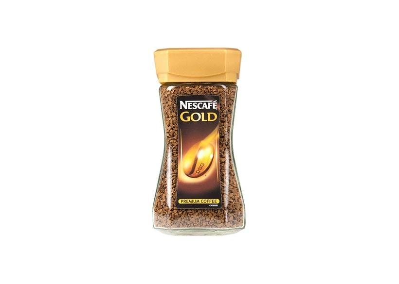 Coffee Beans from Nescafe packed in a bottle