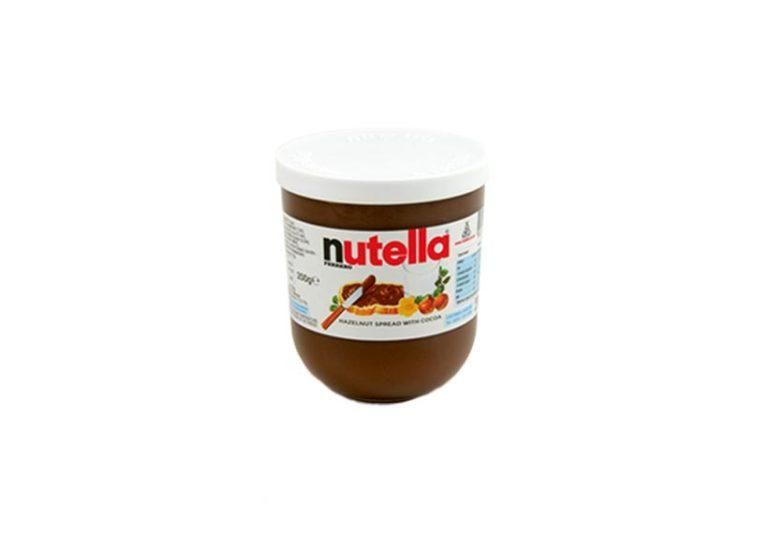 A chocolate spread popular as Nutella