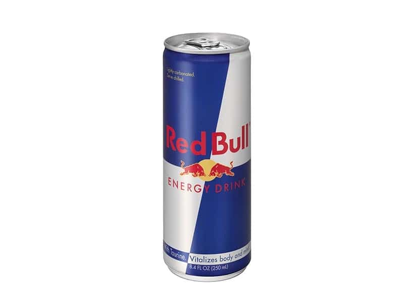 An energy drink offered by Red Bull