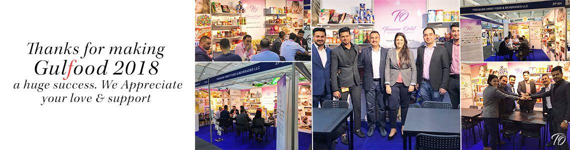 Thanksgiving from Treasure Orbit Group for making the world's largest Food & Beverages trade fair a success