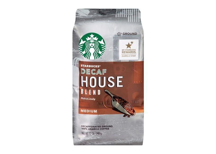 A packet of fine coffee beans by Starbucks