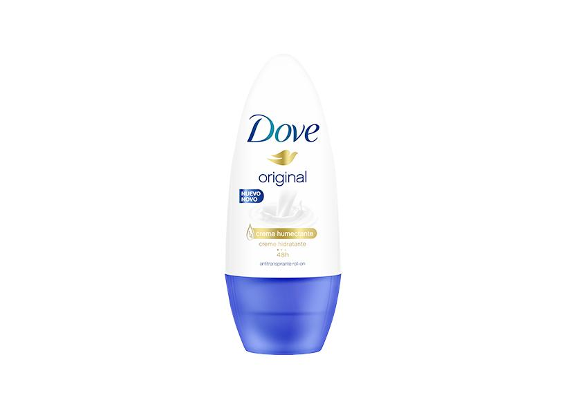 A roll on deodorant by Dove