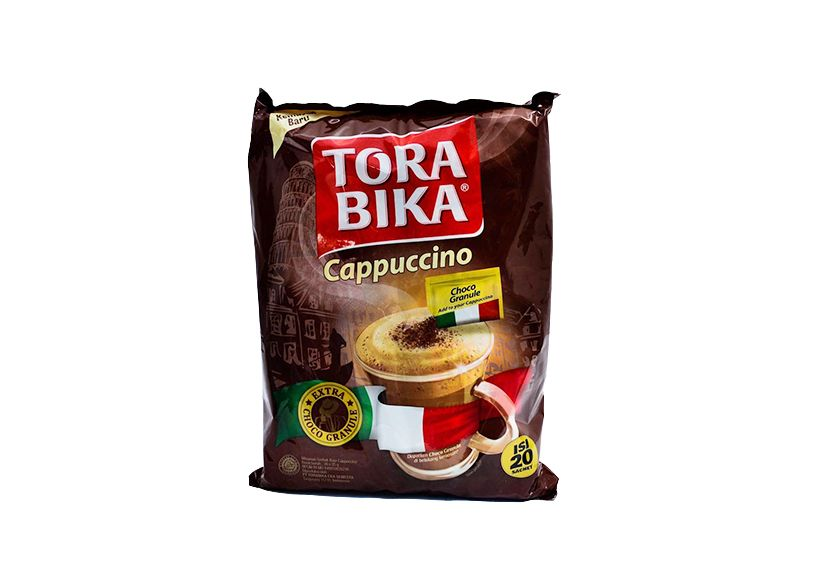 A powdered Coffee packed in sachet
