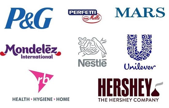 Image showing various brands of food and personal care