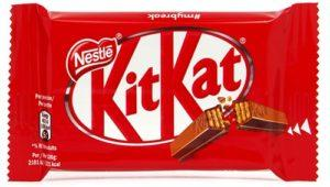 A wafer Chocolate image. Renowned with name KitKat.
