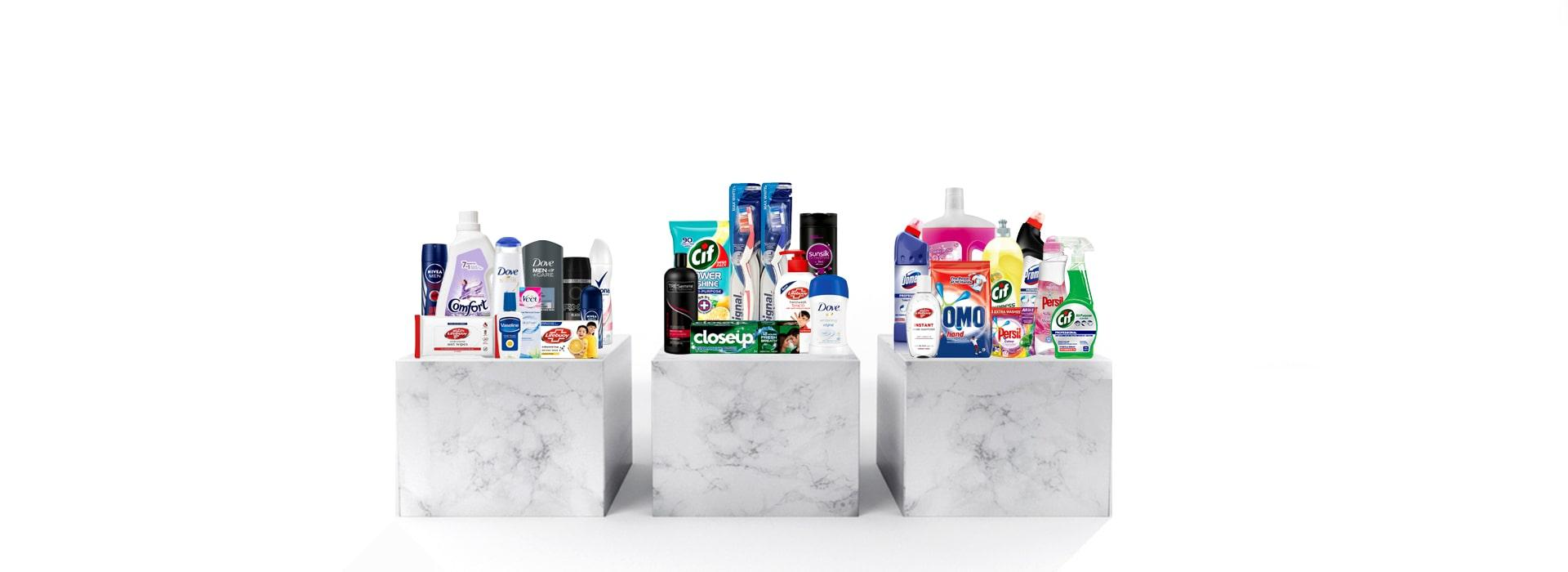 Collection of Personal Care Products